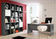 Custom and modular office and storage designs available through Versa style Design