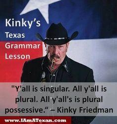 Kinky's grammar lesson