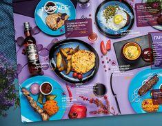 Design menu for restaurant Moscow on Behance