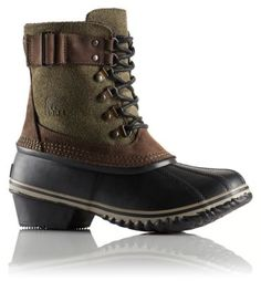 SOREL Women's Winter Fancy™ Lace II Boot - - I WANT THEM SO BADLY. Figures they are sold out of my size everywhere.