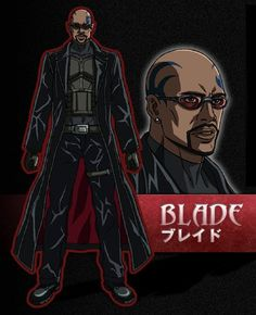 marvel anime | Blade Marvel Comic Universe, Comics Universe, Marvel Heroes, Marvel Comics, Blade Marvel, Vampire Hunter, Hero Costumes, Manga Comics, Godzilla