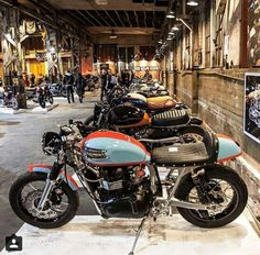 Triumph Thruxton , by Cafe Racer's Passion.
