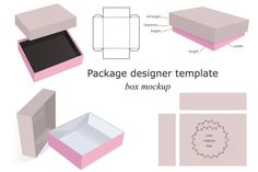 Box Mockups Collection by Digital art shop on Creative Market