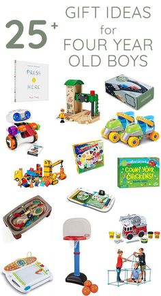 Gift ideas for four year old boys The best toys, books, games, and activities for four year old boys. Great gift ideas for birthday or Christmas! Christmas Gift 3 Year Old Boy, Toddler Christmas Gifts, Toddler Boy Gifts, Christmas Gifts For Boys, Gifts For Kids, Toddler Toys, Christmas Ideas, 4 Year Old Boy Birthday, Birthday Gifts For Boys