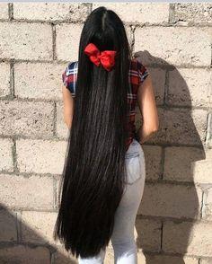 Loose Hairstyles, Indian Hairstyles, Pretty Hairstyles, Really Long Hair, Super Long Hair, Beautiful Long Hair, Gorgeous Hair, Long Dark Hair, Rapunzel Hair