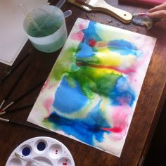 Eventbrite - Deb Taylor presents Chance, Intention and Intuition - making abstract art. - Saturday, July 2016 at CERES Community Environment Park, Brunswick East, VIC. Intuition, Abstract Art, Workshop, How To Make, Gut Feeling, Atelier, Work Shop Garage