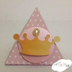 Caixinha Triângulo Princesa