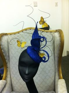 Covet Bespoke Couture  Extravagant Couture Headpiece. To see the source оf this item click on the picture. Please also visit my Etsy shop LarisaBоutique: https://www.etsy.com/shop/LarisaBoutique Thanks!