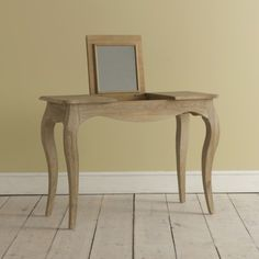 Weathered Oak Dressing Table | Thelma Thelma - Dressing tables & stools | Loaf