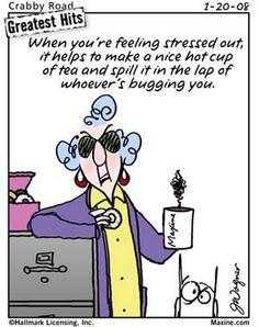 Maxine Cartoon 2013 | Chuck's Fun Page 2: Seven Maxine Cartoons