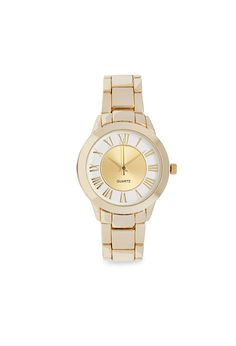 Two-Tone Analog Watch   FOREVER21 - 1000104758