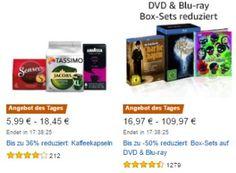 Amazon: Kaffeekapseln, Ravensburger-Spiele und DVD-Sets mit Rabatt https://www.discountfan.de/artikel/technik_und_haushalt/amazon-kaffeekapseln-ravensburger-spiele-und-dvd-sets-mit-rabatt.php Auch heute lohnt sich wieder ein Blick auf die aktuellen Oster-Angebote des Tages von Amazon: Reduziert sind unter anderem Benq-Bildschirme, Sony-Objektive, Kaffeekapseln, DVD-Boxsets und Ravensburger-Produkte. Amazon: Kaffeekapseln, Ravensburger-Spiele und DVD-Sets mit Rabatt (Bild:..
