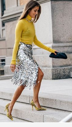 5 Trend-Forward Pieces You Need This Season – Box of Style outfits style summer teenage frauen sommer for teens outfits Mode Outfits, Skirt Outfits, Sexy Outfits, Fall Outfits, Fashion Outfits, Christmas Outfits, Sequin Skirt Outfit, Sequined Skirt, Vegas Outfits