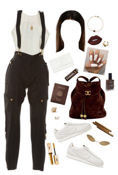 """""""FYBR // A$AP Mob"""" by milean ❤ liked on Polyvore featuring Gucci, NIKE, Acne Studios, Royce Leather, Chanel, Yves Saint Laurent, Lanvin, ASOS, American Apparel and Lime Crime"""