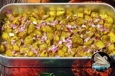Pommes de terre au four à l'indienne http://www.aprendresansfaim.com/2016/09/pommes-de-terre-au-four-lindienne.html