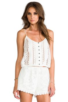 DV by Dolce Vita Sierra Tank in Blanc from REVOLVEclothing