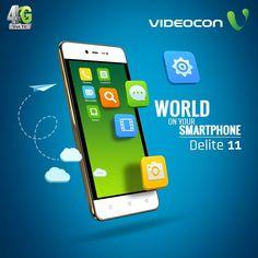 Explore the world on Videocon Delite 11. Know more – http://www.videoconmobiles.com/delite11-v50ma