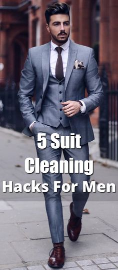 We all expect our suits to look clean & new but we forget the fact that after wearing them it's likely to get dirty. Here are 5 suit cleaning hacks for men. Oversized Sweater Outfit, Turtleneck T Shirt, Beige Sweater, Sweater Outfits, Shirt Outfit, Casual Outfits, Maroon Bomber Jacket, Capsule Wardrobe Essentials, Back To School Outfits