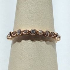 If D ever asks about an anniversary present ladies- a rose gold band :))