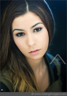 Such a pretty portrait. Michigan High School Senior Photography. #ArisingImages #Girl #Senior #Beautiful