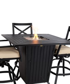 5 Piece High Patio Dining Set Outdoor Living Balcony Bar Height