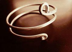Bracciali a spirale - Bracciale Wireart - un prodotto unico di GabriEL-Bijoux-Creations_ su DaWanda