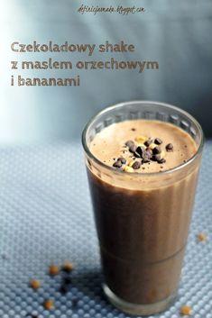 Czekoladowy shake z masłem orzechowym i bananem | Definicja Smaku