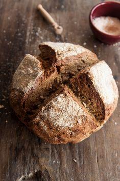 rye soda bread for REUBENS from your leftover cornbeef