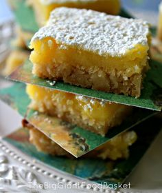 Easy Bake Lemon Bars- starting with refrigerated sugar cookie dough