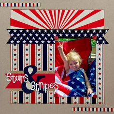 Layout: Stars & Stripes