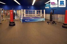 Neoflex 500 Series Rubber Fitness Flooring @ Fitness First, Jeddah City, Saudi Arabia