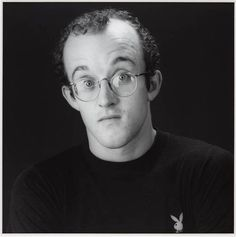 Robert Mapplethorpe 'Keith Haring', 1984 © Robert Mapplethorpe Foundation Photograph, gelatin silver print on paper Robert Mapplethorpe, Patti Smith, Jm Basquiat, Just Kids, Keith Haring Art, Tv Movie, Still Life Images, Museum Art Gallery, Pop Art Portraits