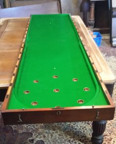 Red Antique Bagatelle Table For At Brown S Antiques Browns Billiards And Interiors