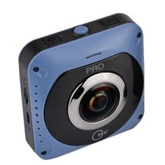 360°*360° Panoramic VR Sports Camera 720° Mini WiFi Action Sports DV Double Sided Fish Eyes Lens Gravity Sensor Sale - Banggood.com