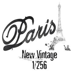 PARIS illustration. Fashion graphic.