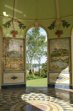 Alexandre Serebriakoff ~ Pavillon Turc, Apremont-sur-Allier.