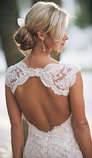 Love the back of this wedding-ideas