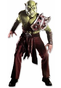 Orc Warrior Costume, World of Warcraft Fancy Dress - Superhero Costumes at Escapade