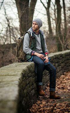 画像 : 【メンズ】最新2016年版 冬・真冬のファッションコーデ集 お洒落な冬スナップ画像集[海外] - NAVER まとめ