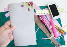 fazer caderno em casa encadernação simples faça você mesmo traveler's notebook