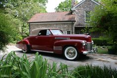 1941 Cadillac Series 62 Convertible Coupe #windscreen #windblocker #winddeflector