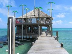 Palapa Bar in San Pedro, Belize. One of my most FAVORITE places on the planet!