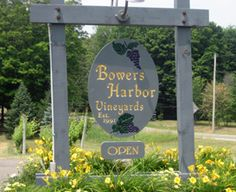 Bowers Harbor Vineyards  Old Mission Peninsula  Michigan
