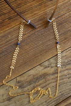 Eyewear necklace in various colors / chain for sunglasses / gold chain / arrow necklace / necklace for glasses / eyewear chain Jewelry Cleaning Cloth, Eyeglass Holder, Gold Sunglasses, Jewelry Case, Gold Chains, Eyeglasses, Eyewear, Jewelry Making, Etsy