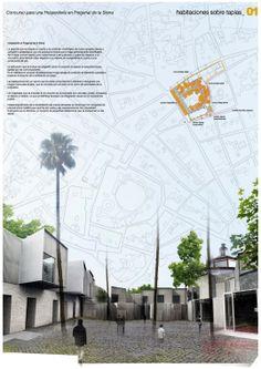 Concurso Hospedería Fregenal de la Sierra (Badajoz) | acm – temperaturas extremas / Temperaturas Extremas Arquitectos S.L.P (Andrés Cánovas, Nicolás Mauri and Atxu Amann) - España