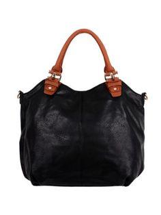 $18.90 Black Leather Large Satchel