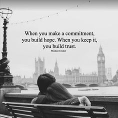 Commitment. Trust. Loyalty. Marriage.