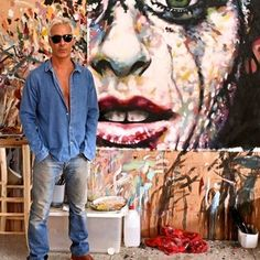 thomas saliot | Saatchi Art his paintings are all over Pinterest but I was curious about the man behind them, here's his portfolio