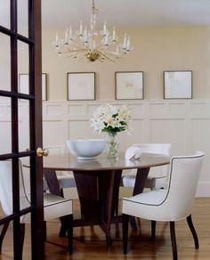 classic dining room | william hefner architecture