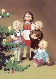 martta wendelin - Google-haku Christmas Tale, Swedish Christmas, Noel Christmas, Scandinavian Christmas, Vintage Greeting Cards, Vintage Christmas Cards, Vintage Holiday, Xmas Cards, 3 Gif
